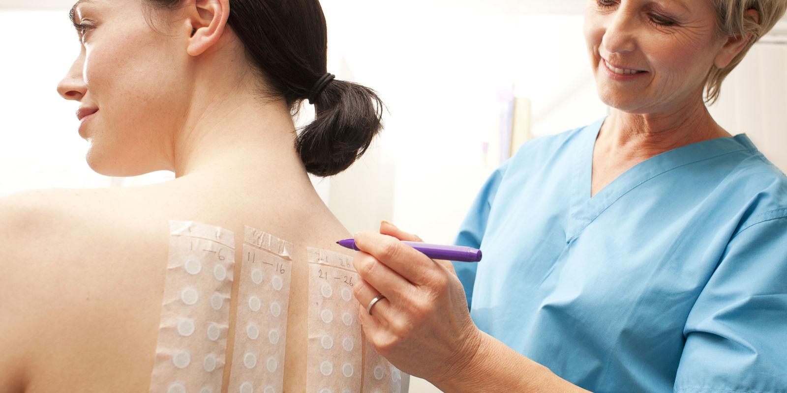 аллергия на краску татуировки лечение