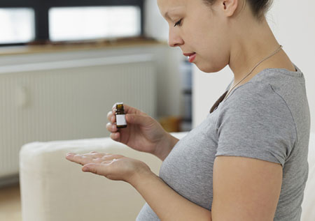 капли и беременность